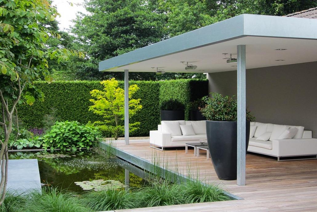 moderne tuinen van top hoveniers