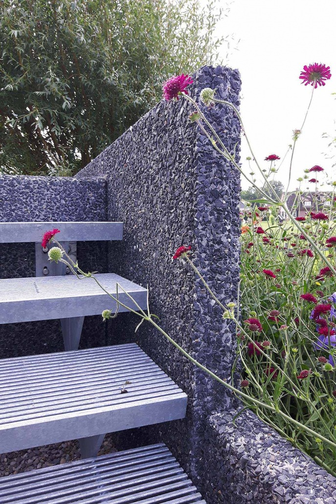 Ruime tuin