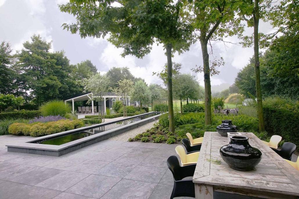 Exclusieve design tuin